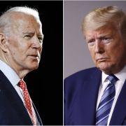 Joe Biden vs. Donald Trump - Die aktuellen News zur US-Wahl im Überblick.