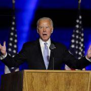 So wild feiern die US-Promis den Sieg von Biden und Harris (Foto)