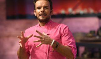 TV-Koch und Entertainer Steffen Henssler hat Po-Weh! (Foto)