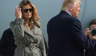 Plant Melania Trump schon ihre Scheidung von Donald Trump? (Foto)