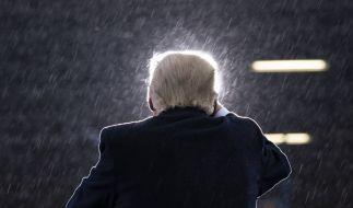 Donald Trump will seine Wahl-Niederlage nicht anerkennen. (Foto)