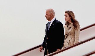 Naomi Biden unterstützte ihren Opa Joe Biden im US-Wahlkampf. (Foto)
