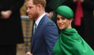 Prinz Harry und Meghan Markle nutzen Remembrance Day für PR. (Foto)