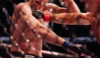 UFC-Star Ramiz Brahimaj hat bei einem Kampf fast ein Ohr verloren. (Foto)