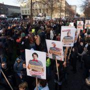 Querdenker in Unterzahl! Polizei rückte mit Großaufgebot an (Foto)