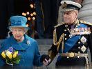 Queen Elizabeth II. und Prinz Philip im Jahr 2015. (Foto)