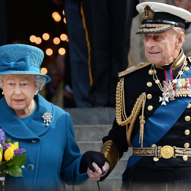 """""""Stirb' nicht vor mir""""! Queen in Sorge um Prinz Philip (Foto)"""