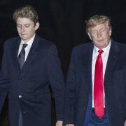 Sorge um Trump-Sohn! DAS verrät seine Körpersprache (Foto)