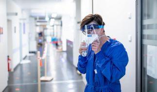 Dr. Carola Holzner behandelt im Universitätsklinikum Essen täglich Covid-19-Patienten. (Foto)