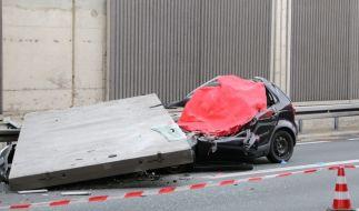 Die Fahrerin des Wagens hatte keine Chance. (Foto)