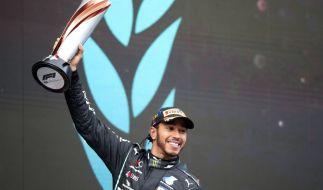 Lewis Hamilton holte sich seinen 7. Weltmeistertitel. (Foto)