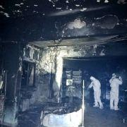 Flammen-Hölle! Zehn Covid-19-Patienten auf Intensivstation verbrannt (Foto)