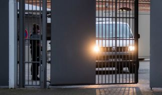 Der im Fall Maddie Verdächtige war aus einem Kieler Gefängnis ins Landgericht Braunschweig gebracht worden. Grund war eine Anhörung vor der Strafvollstreckungskammer. (Foto)