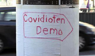 Für Mittwoch, den 18.11.2020, sind in Berlin mehrere Demonstrationen von Corona-Gegnern angekündigt worden. (Foto)