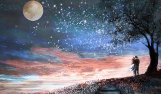 Laut Liebeshoroskop 2021 können diese Sternzeichen im neuen Jahr die große Liebe finden. (Foto)