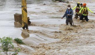 """Hurrikan """"Iota"""" hat in Mittelamerika für heftige Überschwemmungen, Stromausfälle und Sturmschäden gesorgt. (Foto)"""