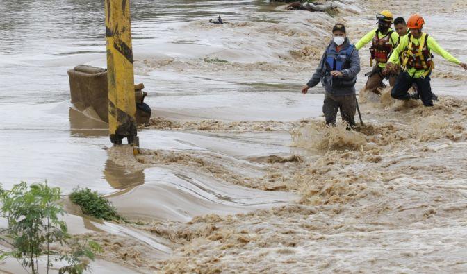 Unwetter in Mittelamerika