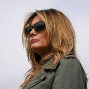 """""""Pack deine Sachen!"""" DAMIT verärgert Donald Trumps Frau das Netz (Foto)"""