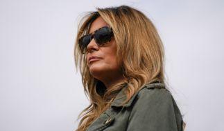 Melania Trump wird gerade für die Weihnachtsdekoration im Weißen Haus kritisiert. (Foto)