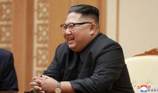 Da hat Kim Jong-un gut lachen. (Foto)