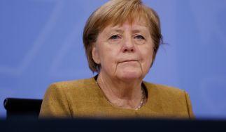 Angela Merkel beriet sich am Mittwoch mit den Ministern zu neuen Corona-Regeln. (Foto)