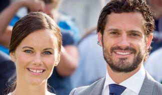 Prinz Carl Philip und Prinzessin Sofia von Schweden wurden positiv auf das Coronavirus getestet. (Foto)