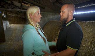 Bei Pferdewirtin Denise (31) und Sascha (29) ist schlechte Stimmung angesagt. (Foto)