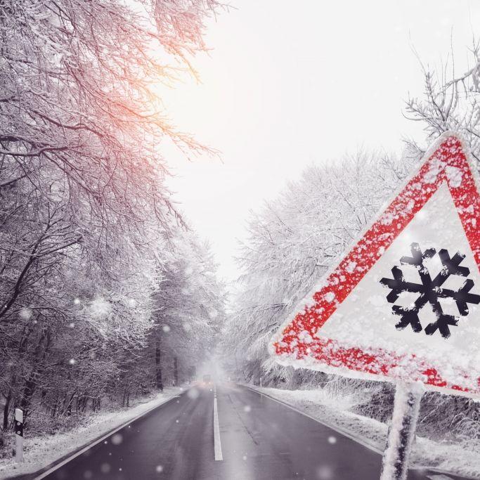 Schnee und Glätte-Gefahr! HIER wird es heute gefährlich glatt (Foto)