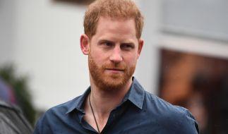 Prinz Harry trauert um seine Patentante. (Foto)