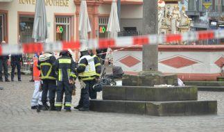 In Trier raste ein betrunkener Deutscher (51) in eine Menschengruppe. (Foto)