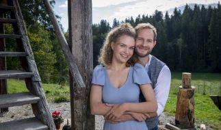 """Das """"Sturm der Liebe""""-Traumpaar Franzi und Tim sagt endlich Ja. (Foto)"""