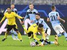 Borussia Dortmund steht nach einem Remis gegen Lazio im Achtelfinale der Champions League. (Foto)