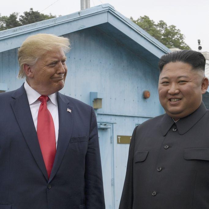 Dreister Wahlbetrug! So soll Kim heimlich für Trump gestimmt haben (Foto)
