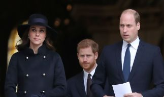 Kate Middleton, Prinz Harry und Prinz William in den Royal-News. (Foto)