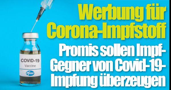 Corona: Promis als Versuchskaninchen? SIE sollen uns von...