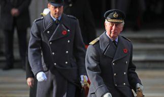 Prinz William und Prinz Charles sind nicht immer einer Meinung. (Foto)
