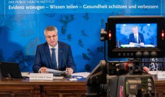 Die aktuellen Coronavirus-News von Deutschland erfahren Sie hier. (Im Bild: RKI-Chef Lothar Wieler bei einer Pressekonferenz des Robert Koch-Instituts) (Foto)