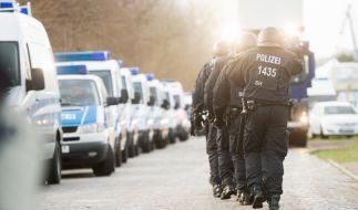 Eine Schießerei in Berlin versetzte die Polizei in Aufruhr. (Foto)