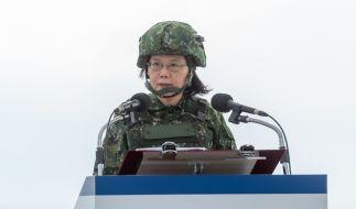 Taiwan rüstet massiv auf, um sich gegen China zu behaupten. (Foto)