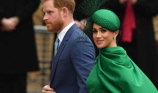 Prinz Harry und Meghan Markle wollen der britischen Königsfamilie angeblich Konkurrenz machen. (Foto)