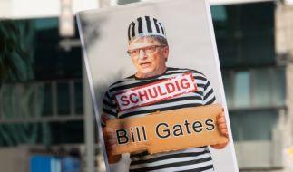 Für Corona-Skeptiker ein Feindbild der ersten Stunde: Bill Gates. (Foto)