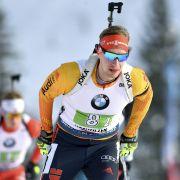 Pfeiffer gewinnt Biathlon-Massenstart in Hochfilzen (Foto)