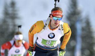 Die Biathlon-Wettbewerbe der Herren in Hochfilzen (Österreich) stellen die letzten Termine der Biathleten im Kalenderjahr 2020 dar. (Foto)