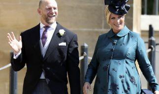 Bald dreifache Eltern: Queen-Enkelin Zara Phillips und ihr Ehemann Mike Tindall. (Foto)