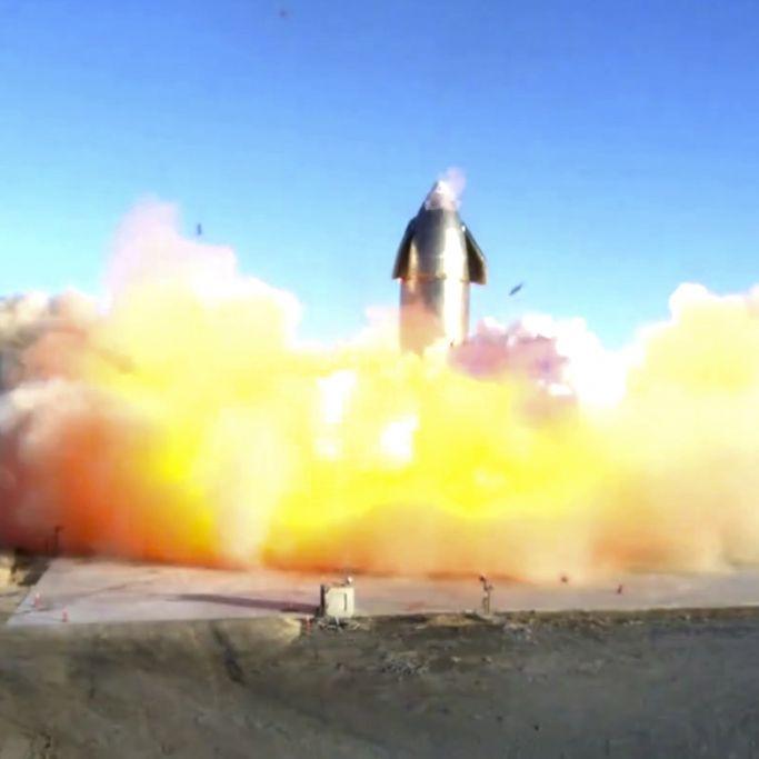 """""""Mars, wir kommen!"""" SpaceX-Rakete bei Testlandung explodiert (Foto)"""