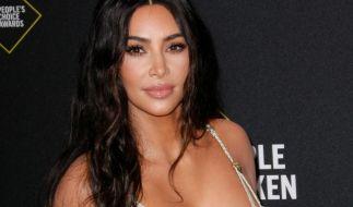 Kim Kardashian präsentiert ihre neuen Skims. (Foto)