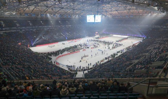 Biathlon auf Schalke am 28.12.2020