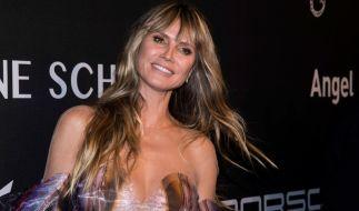 """Heidi Klum hat sich für die Model-Premiere ihrer Tochter Leni (16) für das """"Vogue""""-Cover ablichten lassen. (Foto)"""
