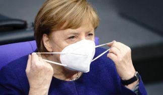 Angela Merkel fordert härtere Maßnahmen im Kampf gegen die Corona-Pandemie. (Foto)