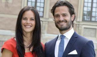 Prinzessin Sofia und Prinz Carl Philip werden zum dritten Mal Eltern. (Foto)